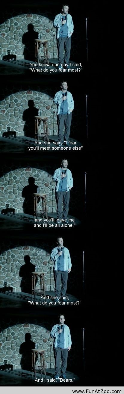 Funny story about fears - Funny Picture