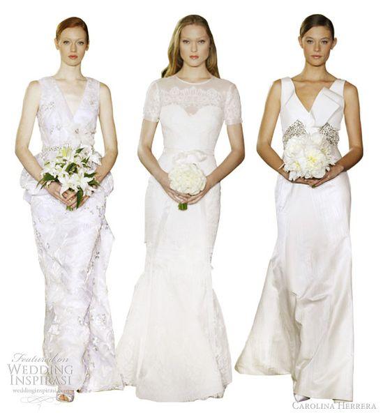 carolina herrera bridal 2012 collection