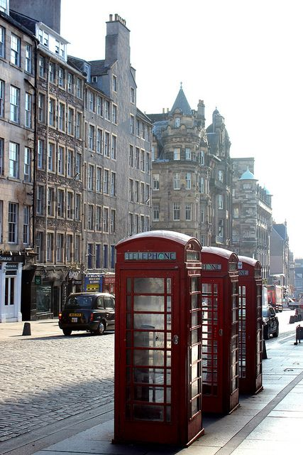 The Royal Mile-Edinburgh, Scotland