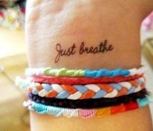 tattoos Just breathe