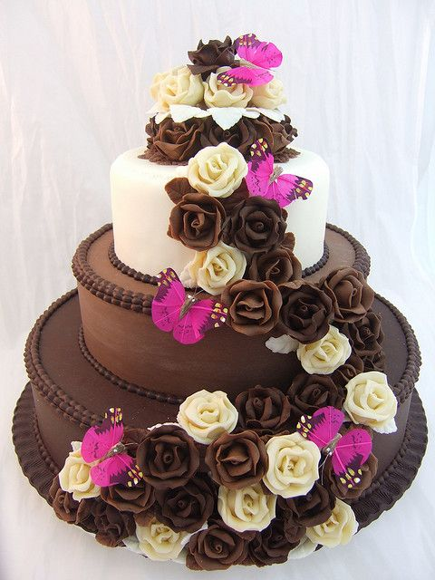 '#chocolate love' #wedding #cake