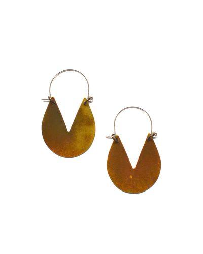 Triangle Dip Earrings