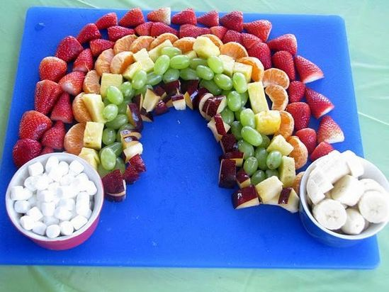 Healthy and fun, Fruit Rainbow