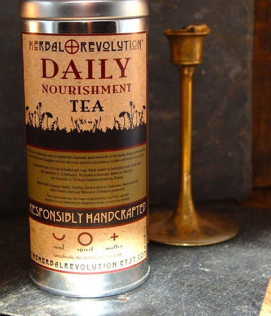 Daily #Nourishment #Organic #HerbalTea Lg #HerbalRevolution #Maine