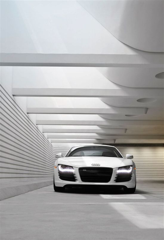 #cars #engines #speed #product design #audi #white #passion