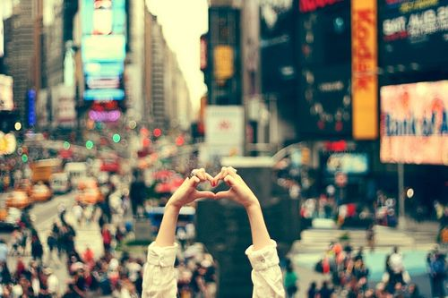 We heart #TimesSquare #NYCLove