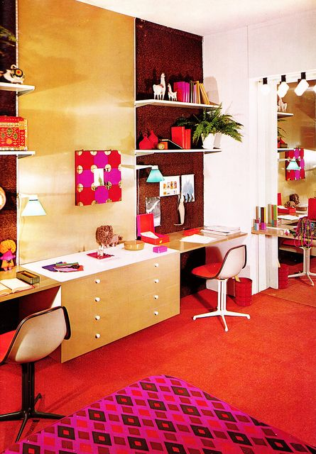 60s office. this needs to be my office.