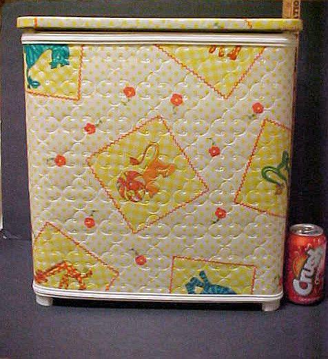 Vintage Child Hamper or Toy Box Kid Toy Box Hamper