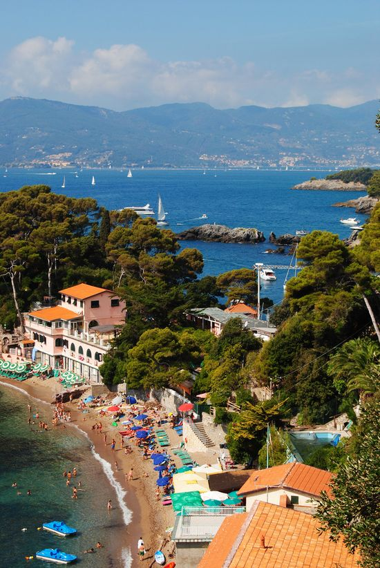 Lerici, Liguria, Italy--south of the Cinque Terre. #Italy