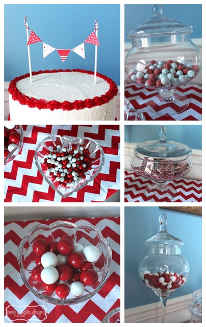 Red and white party #redwhite #party