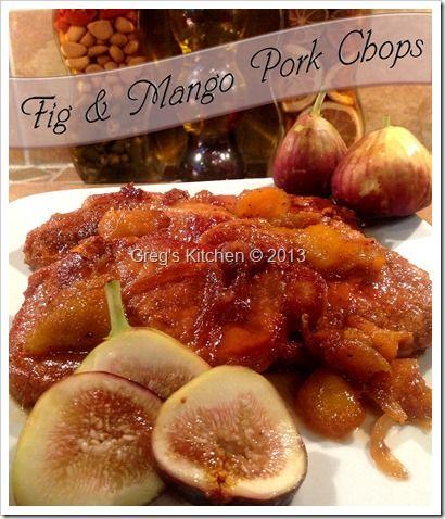 Fig & Mango Pork Chops