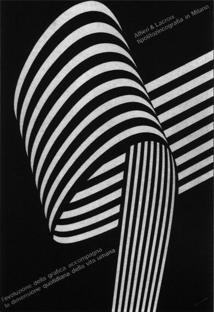 Franco Grignani, Graphic designer The timeless designs of Franco Grignani: