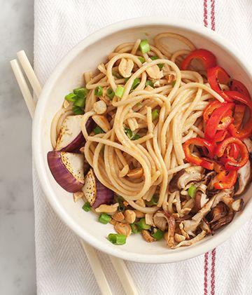 Peanut Noodles & Veggies