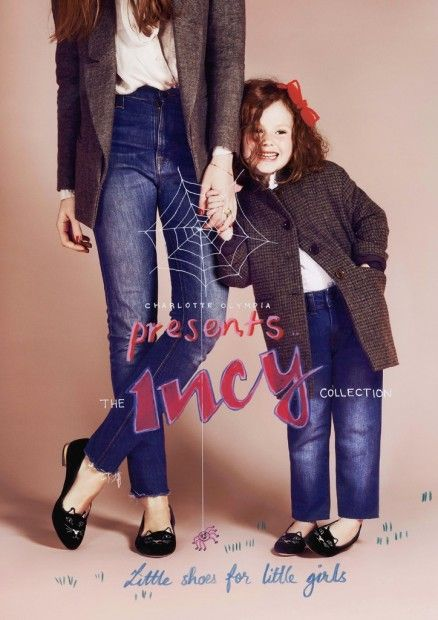 Charlotte Olympia Incy Shoe Collection for Girls