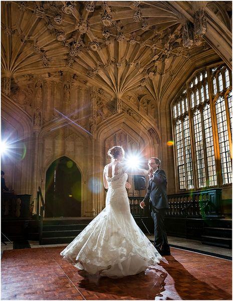 A Bodleian Library wedding reception