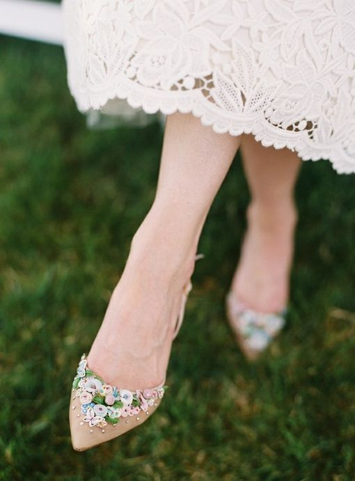 Love love love, want for everyday wear. Gorgeous Vintage Wedding Shoes