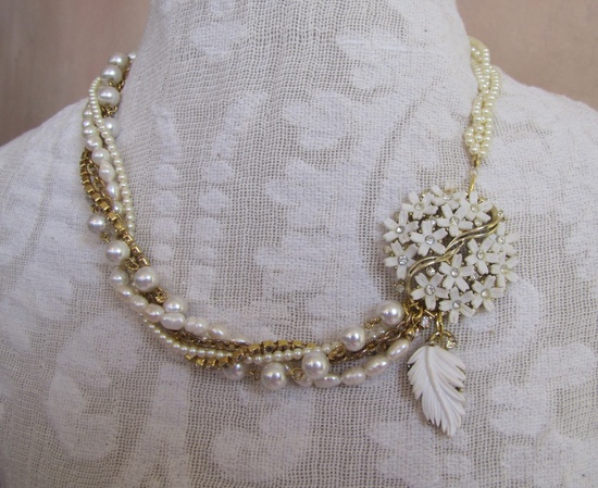refashioned vintage jewelry - Google Search
