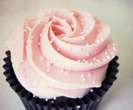 pink cupcake...