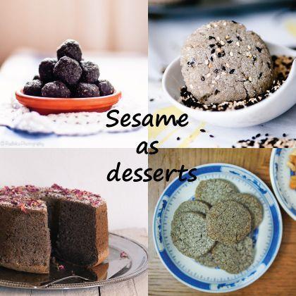Sesame Dessert Recipes