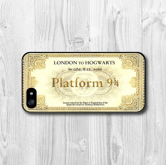 Harry Potter Platform iPhone 5 Case iPhone 5 hard by CasePapa, $6.99