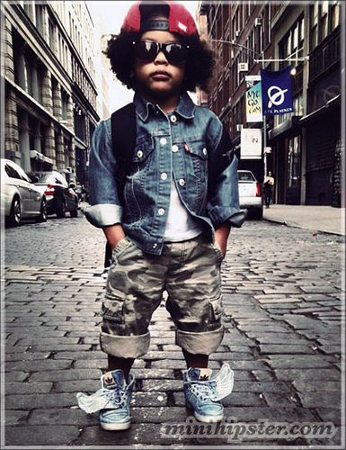 Street Style Kids! Love this