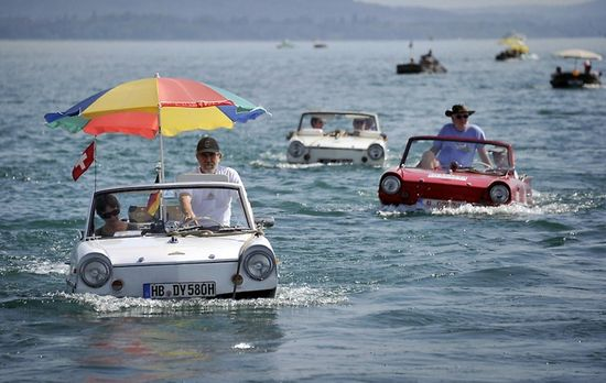 Amphibious Car Meet in Switzerland
