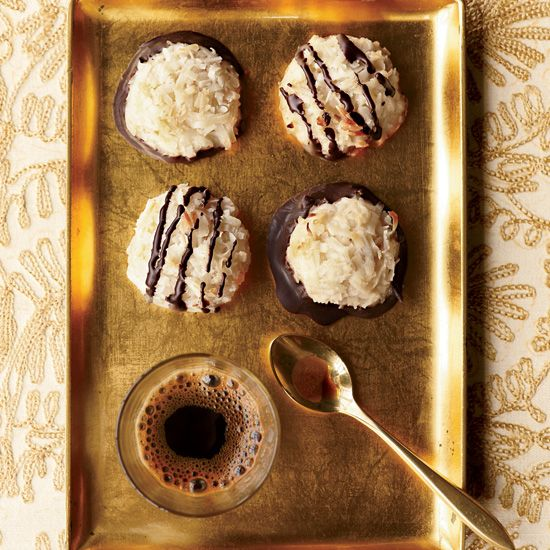 Coconut Macaroons // More Christmas Cookie Recipes: www.foodandwine.c... #foodandwine