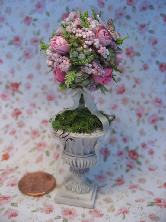 Dollhouse Miniature Topiary