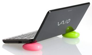 Love these Smart Pebbles which are great for propping up laptops and phones.