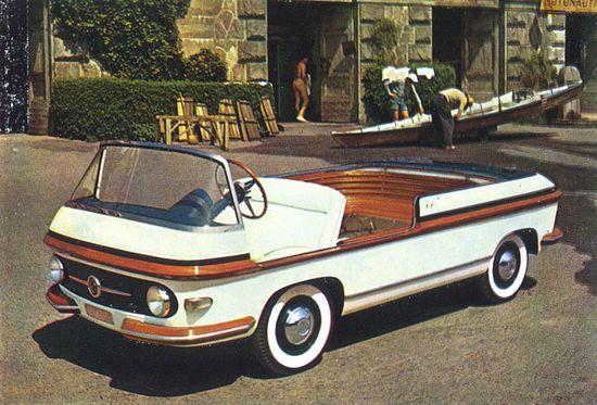 1956 - Pininfarina Fiat Multipla Marine.