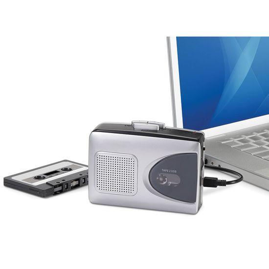 The Best Portable Cassette To MP3 Converter - Hammacher Schlemmer