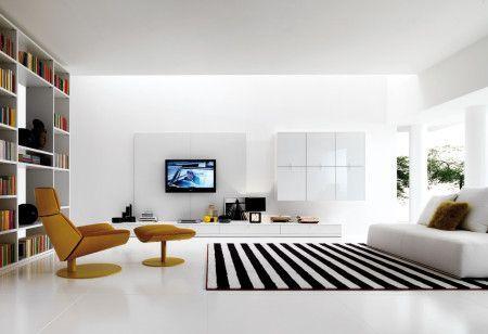 Black And White Colours Carpet Floor Design Ideas -
