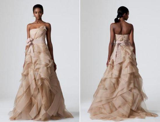Vera Wang #Wedding Gown