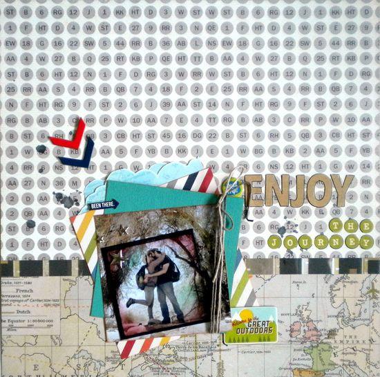 Enjoy the Journey - Scrapbook.com