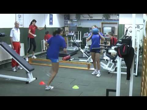 """the choosen physical exercises from VK Prostejov women volleyball team"""