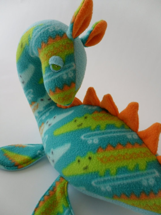 Nile the Loch Ness Monster    by nicolecrock