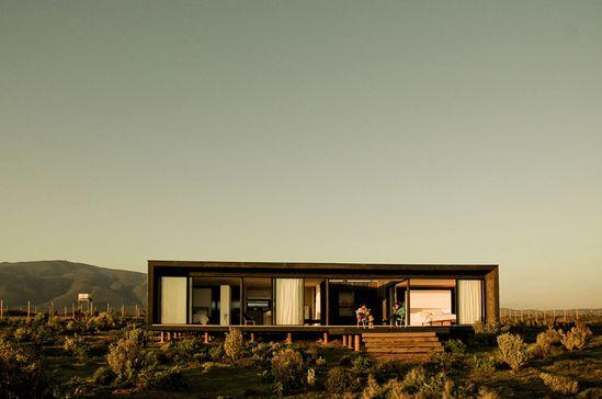 modern desert house