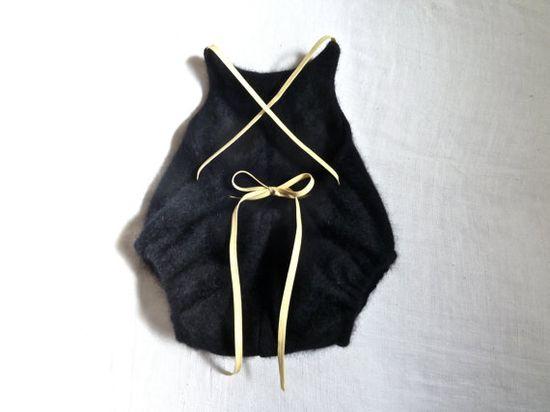 Angora Baby Onesie, Bodysuit, Romper, Diaper Cover - Upcycled