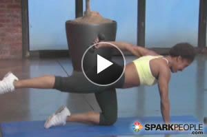 A super effective Fat Blaster workout combines cardio and strength into a 20-minute routine