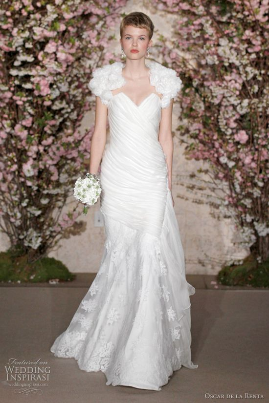 Oscar De La Renta Spring 2012 Wedding Dresses