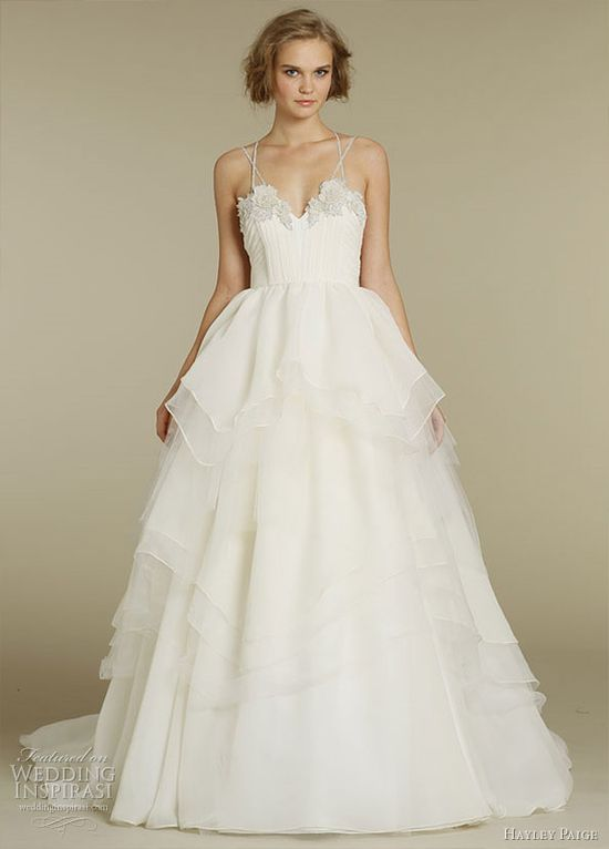Hayley Paige Wedding Dress - Spring 2012