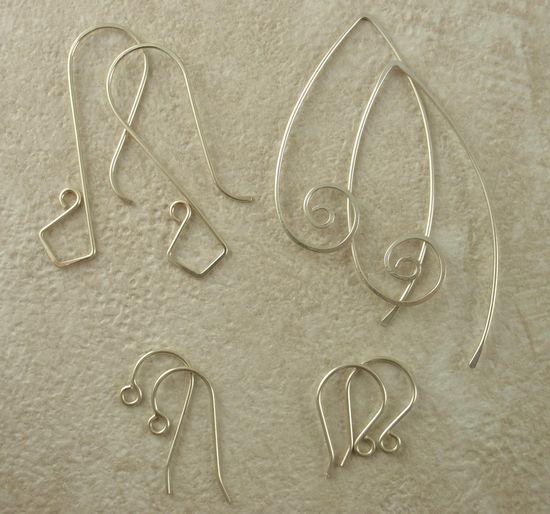 Silver Ear Wires ideas
