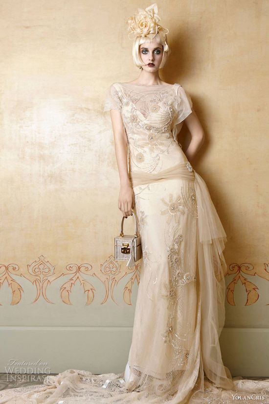 2013 Wedding Trend: Embellishment - Yolan Cris