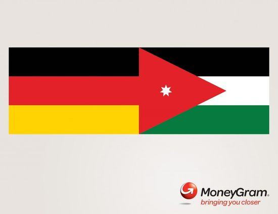 """New print campaign """"Flags"""" for MoneyGram International Money Transfer Services by Drive Dentsu Beirut. #Advertising"""
