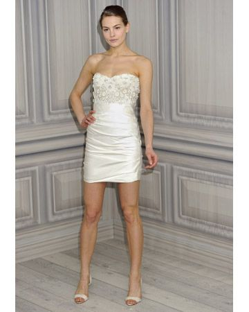 Monique Lhuillier, Spring 2012 Collection    Short