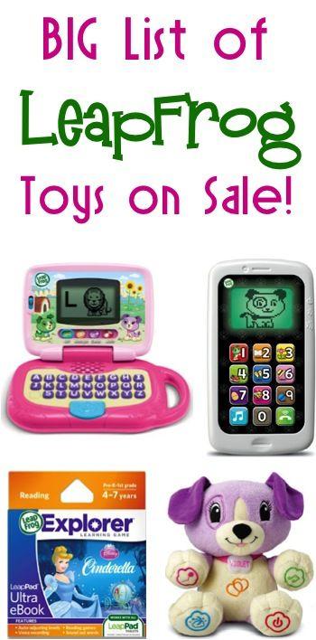 BIG List of LeapFrog Toys on Sale!