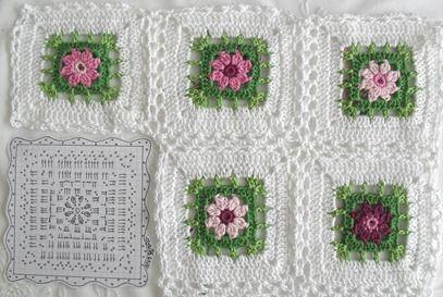 Garden granny blanke