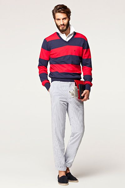 CH Carolina Herrera Menswear S/S 2013