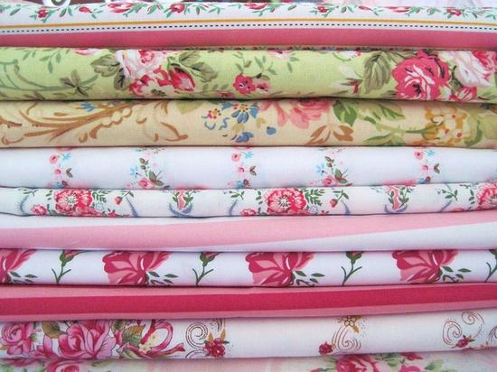 More Shabby Chic Fabrics From My Studio