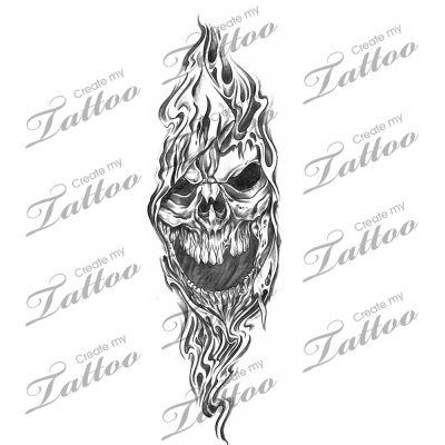 Reaper tattoo design